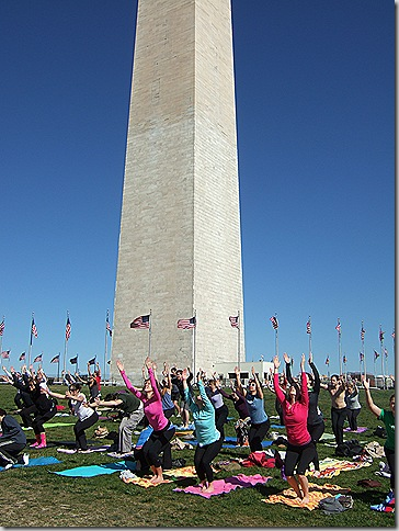 yoga on the mall 016