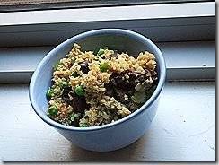 Reinvented Mac and Peas with Mushrooms (12)