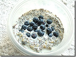 blueberry pudding with chia 002