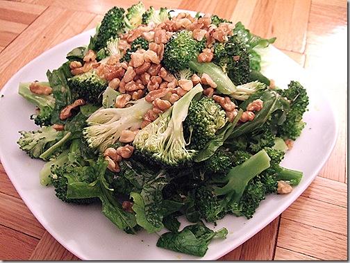 broccoli arugula salad 011