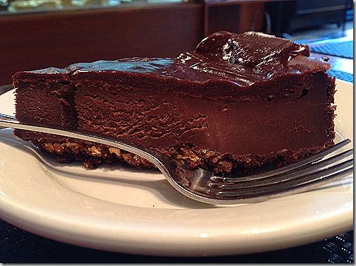 karyns chocolate cheesecake vegan